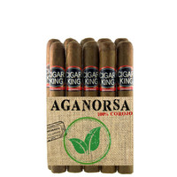 Cigar King Aganorsa Leaf  #5 Corojo 99 Corona  (5.5x48 / 10 Pack) + FREE SHIPPING!