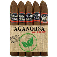 Cigar King Aganorsa Leaf #7 Corojo 99 Torpedo Box Press (6.25x52 / 10 Pack) + FREE SHIPPING!