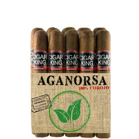Cigar King Aganorsa Leaf #8 Corojo 99 Robusto Box Press (5x52 / 10 Pack) + FREE SHIPPING!