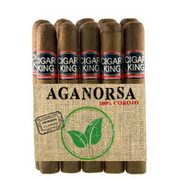 Cigar King  Aganorsa Leaf #10 Corojo 99 Toro  (6x56 / 10 Pack) + FREE SHIPPING!