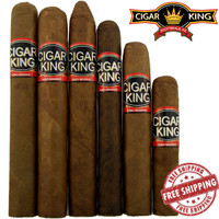 Cigar King Aganorsa Leaf 6 Pack Super Sampler + FREE SHIPPING ON YOUR ENTIRE ORDER!