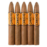 Camacho Connecticut Figurado (6.125x54x42 / 5 Pack)