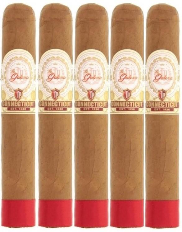 """La Galera Connecticut """"Tabaquero Presidente"""" Churchill (7.25x50 / 5 Pack)"""
