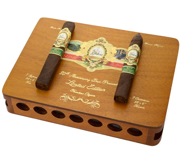 La Galera 80th Anniversary Box Pressed Limited Edition Box of 14 (7 Toro, 7 Torpedo)