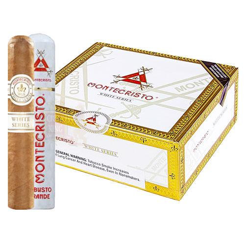 Montecristo White Robusto Grande Tube (5x52 / Box 15)