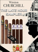 Davidoff Winston Churchill Late Hour Sampler (6 PACK SPECIAL) + Free Wolfe Blade Cutter + 3 Free Cuban Diplomat L.E. Toros + FREE SHIPPING ON YOUR ENTIRE ORDER!