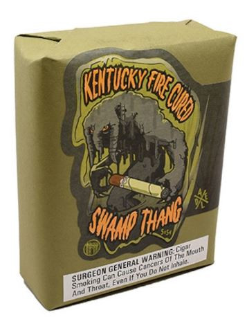 Drew Estate Kentucky Fire Cured Swamp Thang Toro (6x52/ Bundle of 10)