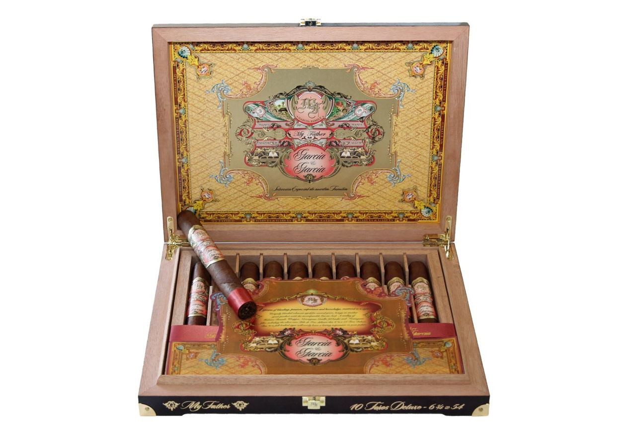 My Father Garcia & Garcia Toro Deluxe (6.75x54 / Box of 10)