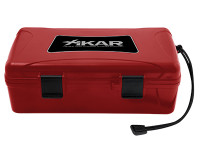 Xikar Xtreme Travel Humidor 10 count Red