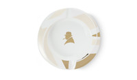 Davidoff Winston Churchill White Porcelain Ashtray