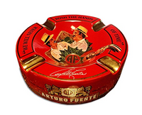 Arturo Fuente Journey Through Time Ashtray Red