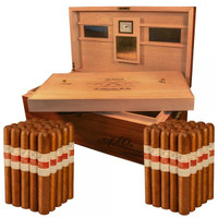 Gurkha 10th Anniversary 15 Year Cellar Reserve Humidor and Cigars (6x52 / box of 50)  + FREE Gurkha Trinity Coffin 3-pack!!