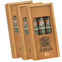 Gurkha Trinity Coffin Pack Of 3 (6x54 / 9 Cigars) + FREE SHIPPING ON YOUR ENTIRE ORDER!