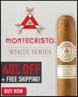 Montecristo White Rothchilde (5x52 / 10 Pack) + 40% OFF! + FREE SHIPPING ON YOUR ENTIRE ORDER!