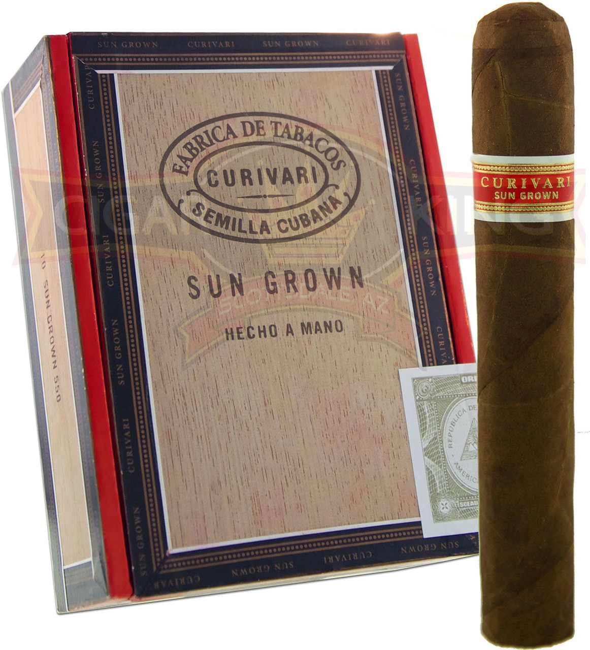 Curivari Sun Grown 550 (5x50 / Box of 10) + FREE SHIPPING ON YOUR ENTIRE ORDER!