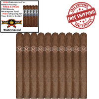 Padron Ambassador (6.88x42 / 10 Pack) + Free 5-Pack PDR Milenio Nicaraguan Toro + FREE SHIPPING ON YOUR ENTIRE ORDER!