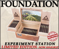Foundation Cigars Experiment Station Collector's Chest (5.25x46 / Box of 30) + FREE SHIPPING ON YOUR ENTIRE ORDER! (LAST ONE!)
