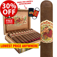 Flor de las Antillas Toro Gordo (6.5x56 / Box 20) + 30% OFF RETAIL! + FREE CUTTER & LIGHTER COMBO ($20 VALUE!) + FREE SHIPPING ON YOUR ENTIRE ORDER!