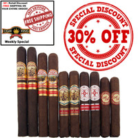 AJ Fernandez ALL STAR LINEUP (10 Cigar Sampler) + FREE SHIPPING ON YOUR ENTIRE ORDER!