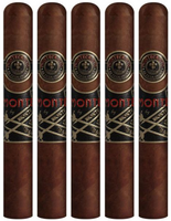 Monte by Montecristo and AJ Fernandez Robusto (4.25x54 / 5 Pack)