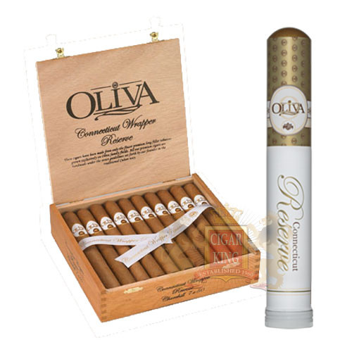 Oliva Connecticut Reserve Toro Tubos (6x50 / 5 Pack)