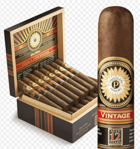 Perdomo Double Aged 12 Year Vintage Maduro Robusto (5x56 / 4 Pack)