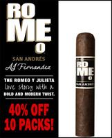 Romeo San Andres by AJ Fernandez Short Magnum (5.5x60 / 10 PACK BLOWOUT) + 40% OFF!