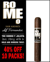 Romeo San Andres by AJ Fernandez Robusto (5x50 / 10 PACK BLOWOUT) + 40% OFF!