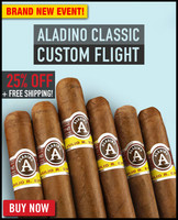 Aladino Classic Cuban Corojo Custom Flight (6 PACK SPECIAL) + FREE SHIPPING ON YOUR ENTIRE ORDER!