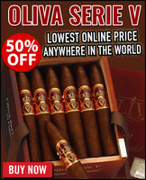 Oliva Serie V Special V Diadema Limited Edition (6x46 / 10 PACK SPECIAL) + 50% OFF RETAIL!