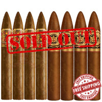 Opus X Perfecxion #2 vs Don Carlos No. 2  (6.45x52 / 5.25x52 / 8 PACK SPECIAL) + FREE SHIPPING ON YOUR ENTIRE ORDER!