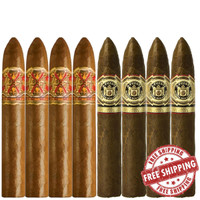 Opus X Super Belicoso vs Don Carlos Belicoso  (5.5x52 / 5.38x52 / 8 PACK SPECIAL) + FREE SHIPPING ON YOUR ENTIRE ORDER!