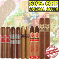 The Titans Of Industry Variety Pack (10 CIGAR FLIGHT SPECIAL) + FREE SHIPPING ON YOUR ENTIRE ORDER!