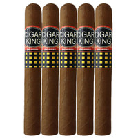 Cigar King Oro By Aladino Eiroa Habano Toro (6x50 / 5 Pack)