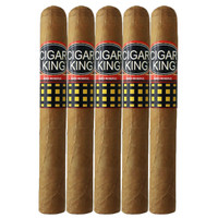 Cigar King Oro By Aladino Eiroa Connecticut Toro (6x50 / 5 Pack)