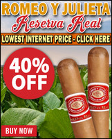 Romeo y Julieta Reserva Real Veronas Court (5.5x44 / 10 PACK BLOWOUT!)