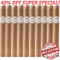 Montecristo White Churchill (7x54 / 10 Pack) + FREE SHIPPING ON YOUR ENTIRE ORDER!
