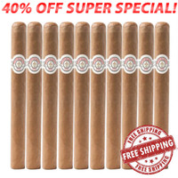 Montecristo White Especiale No. 1 (6.6x44 / 10 Pack) + FREE SHIPPING ON YOUR ENTIRE ORDER!