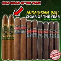 LFD Andalusian Bull Cigar Of The Year Super Sampler (10 Cigars) + FREE SHIPPING ON YOUR ENTIRE ORDER!