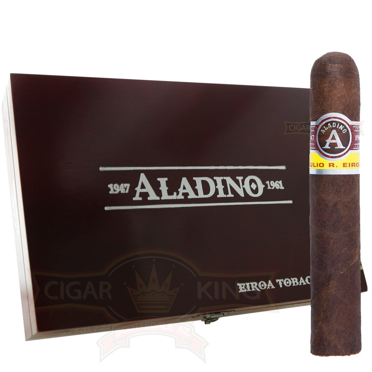 Aladino Maduro #9 Cazador Box Pressed (6x46 / 5 Pack)