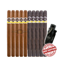 Aladino Palmas VS Cazador Maduro (6x43 / 6x46 / 10 PACK SPECIAL) + Free Aladino Lighter + FREE SHIPPING ON YOUR ENTIRE ORDER!