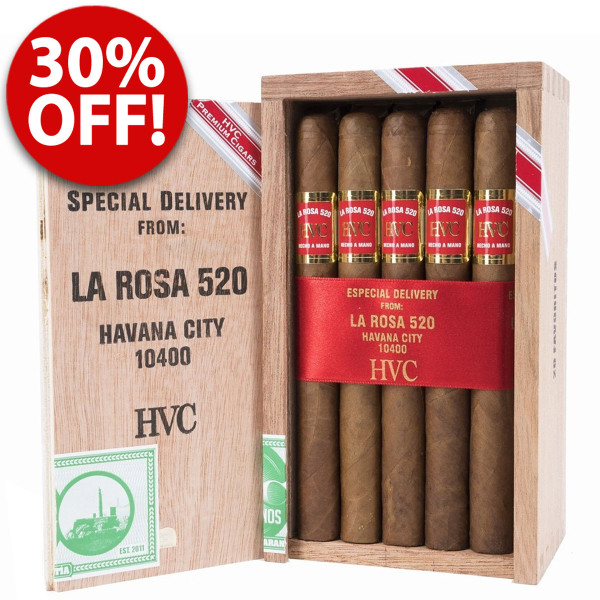 HVC La Rosa 520 Limited Edition Favoritos (6.25x42 / 5 Pack)