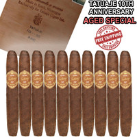 *SOLD OUT* Tatuaje 10th Anniversary Belle Encre Perfecto [BOX DATE FEB 2016] (5.4x48 / 10 PACK SPECIAL) + FREE SHIPPING ON YOUR ENTIRE ORDER!