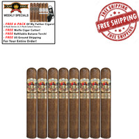 *SOLD OUT* San Cristobal Revelation Legend (5.2x52 / Pack of 8) + FREE 6-PACK OF MY FATHER CIGARS + FREE WOLFE CUTTER + BUTANE TORCH + FREE SHIPPING ON YOUR ENTIRE ORDER!