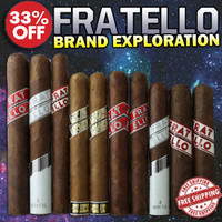 Fratello Brand Exploration Flight (10 Cigar Sampler) + 33% OFF + FREE SHIPPING ON YOUR ENTIRE ORDER!