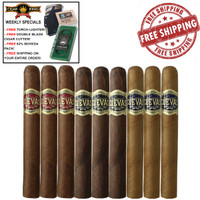 Casa Cuevas Flight (9 Cigar Sampler) + FREE Craftsman's Bench Cutter + FREE Torch Lighter + Free Boveda Humidification Pack + FREE SHIPPING ON YOUR ENTIRE ORDER!