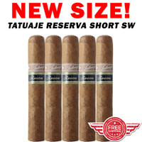 Tatuaje Reserva Short SW (4.75x47 / 5 Pack) + FREE SHIPPING ON YOUR ENTIRE ORDER!