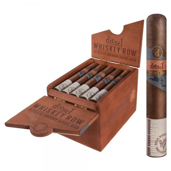 Diesel Whiskey Row Robusto (5.5x52 /5 Pack)