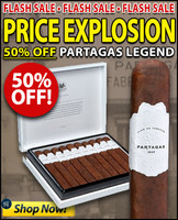 Partagas Legend Toro Leyenda (6.25x54 / Box of 20)