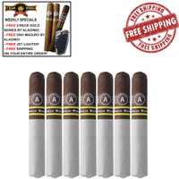 Aladino Corojo Reserva Robusto (5x50 / 7 PACK SPECIAL) + FREE 2 Pack CK Aladino Gold Series Toro + FREE CK Oro By Aladino Maduro Toro + FREE Butane Jet Lighter + FREE SHIPPING ON YOUR ENTIRE ORDER!